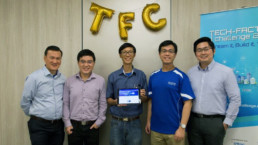 TIIM team picture at tech factor challenge